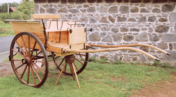 Wooden Cart Wheels Restoration And Fabrication Horse